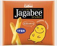 カルビー 16gJagabeeうす塩味