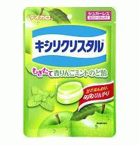 キャドバリー・ジャパン キシリクリスタルもぎたて青りんごミントのど飴