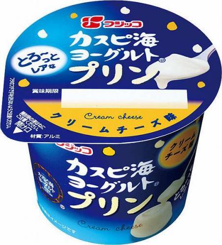 フジッコ カスピ海ヨーグルトプリン クリームチーズ味 ブルーベリー味