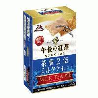 森永午後の紅茶ミルクティーパイ <茶葉2倍ミルクティー>