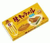 森永生キャラメルアイス
